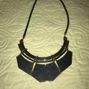 Black and Gold Statement Necklace!